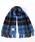 Jubilee Fabric(ジュビリーファブリック)の「カシミヤ 大判ストール(ストール/スヌード)」|ブルー