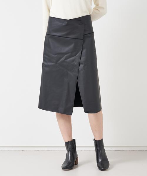 ALWEL ラップスカート
