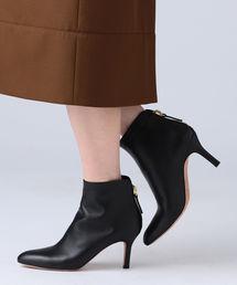 Demi-Luxe BEAMS(デミルクス ビームス)のPELLICO / バックジップ ショートブーツ(ブーツ)