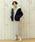 coen(コーエン)の「【ムック本掲載・WEB限定カラー:ブラック】畦編みニットロングワンピース(ワンピース)」|詳細画像