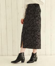 PAGEBOY(ページボーイ)のペイズリーJQナロースカート(スカート)