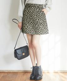 Heather(ヘザー)のジャガードミニスカート 858278(スカート)