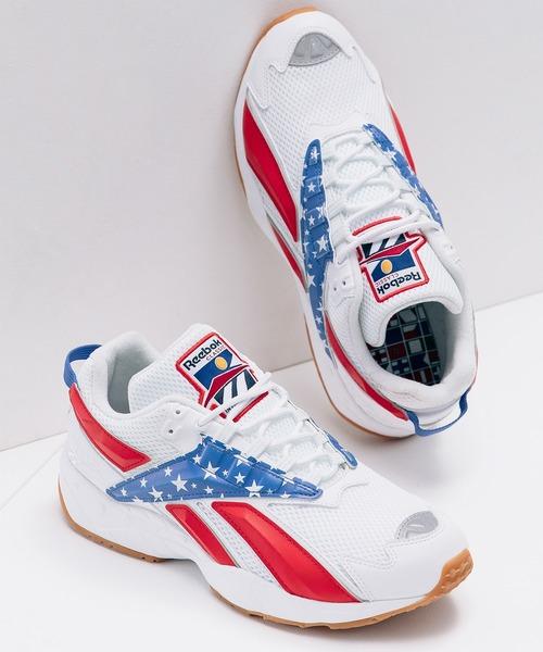 Reebok(リーボック)の「インターバル [INTV 96 Shoes] リーボック(スニーカー)」 ホワイト×レッド