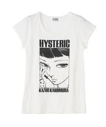 KAZUO KAMIMURA/UKIYOE Tシャツホワイト