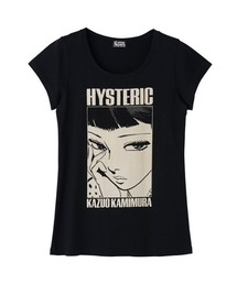 KAZUO KAMIMURA/UKIYOE Tシャツブラック