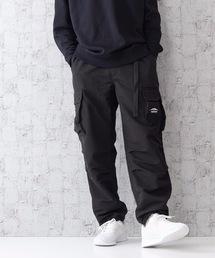 難燃カーゴパンツ 撥水  着るBAGシリーズ  ポケット10個  収納力抜群 裾スピンドル仕様ブラック