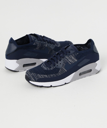 7b10809fbb89 NIKE AIR MAX 90 ULTRA 2.0 FLYKNIT (COLLEGE NAVY COLLEGE NAVY-WOLF GREY)  SP