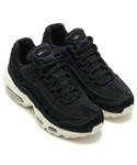 NIKE | NIKE WMNS AIR MAX 95 LX (BLACK/BLACK-DARK GREY-SAIL)【SP】(スニーカー)