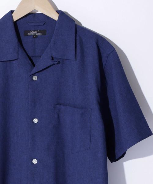 ポリトロリラックスオープンカラーシャツ 2020SUMMER