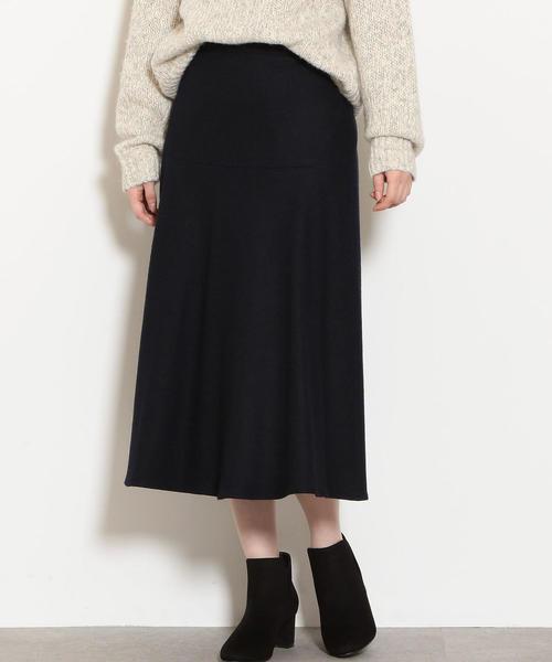 ◆KFC アッシュクW フレア スカート