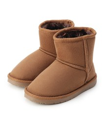 3b1f16b743227 HusHusH KIDS(ハッシュアッシュ キッズ)の「フェイクムートンブーツ(ブーツ)」