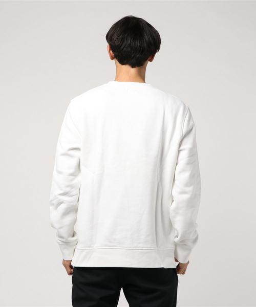 クルーネックセーター BATWING WHITE