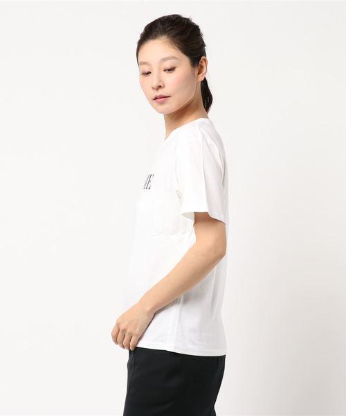 [ウォッシャブル]ロゴプリントTシャツ
