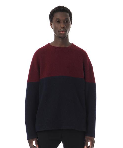 大特価放出! 2 Tone/ Wool Tone Knit Top/ ツートーンニット(ニット/セーター) Wool|Sandinista(サンディニスタ)のファッション通販, 太宰府市:27da0fc6 --- 5613dcaibao.eu.org