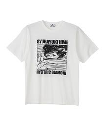 KAZUO KAMIMURA/SYURAYUKIHIME Tシャツホワイト