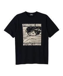 KAZUO KAMIMURA/SYURAYUKIHIME Tシャツブラック