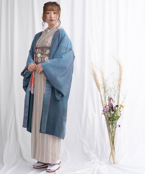 羽織 単品 デニム