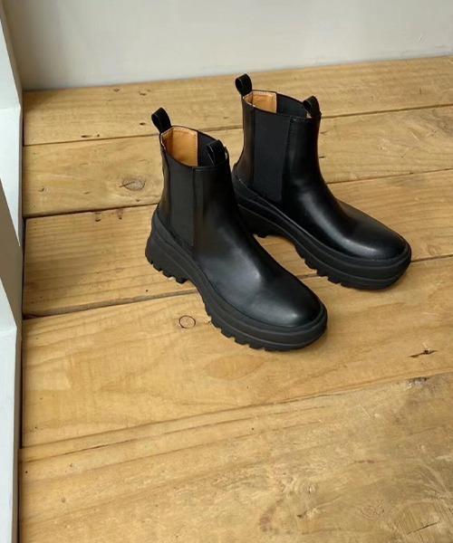 【chuclla】【2021/AW】Vibram sole short boots chs21a029