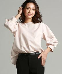 LAUTREAMONT(ロートレ・アモン)の袖のフォルムが女性らしくクラシカルな印象のブラウス(シャツ/ブラウス)