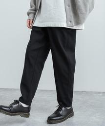 Rocky Monroe(ロッキーモンロー)のワイドパンツ シェフパンツ  テーパードスラックス 無地/チェック柄(パンツ)