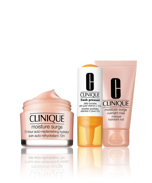CLINIQUE(クリニーク)の「クリニーク モイスチャー サージ バリュー セット(コスメキット/ギフトセット)」|その他