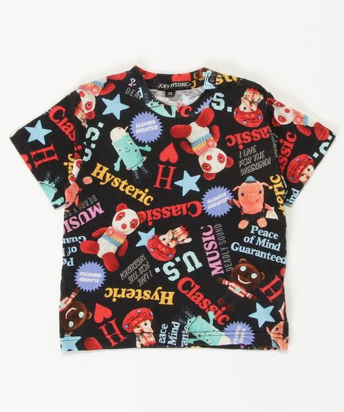 YOKO DOLL MIX柄 Tシャツ【XS/S/M】