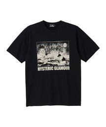 KAZUO KAMIMURA/LADY SNOWBLOOD Tシャツブラック