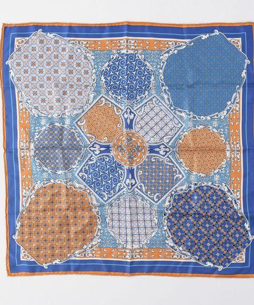 manipuri:65×65プリントスカーフ