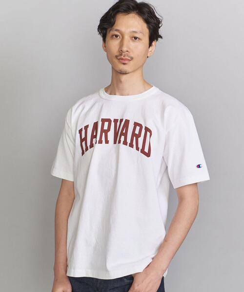 <CHAMPION (チャンピオン)> HARVARD TEE/Tシャツ