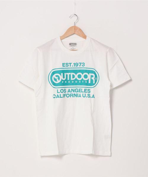 フロントロゴTシャツ 定番のブランドロゴアイテム 身幅ゆったりめなシルエット ユニセックス