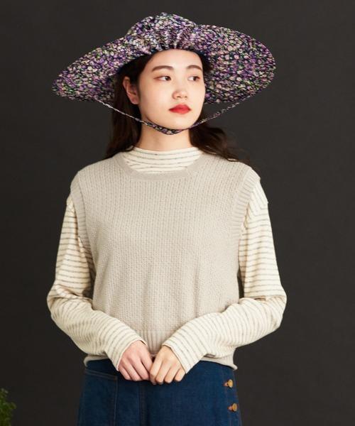 malle Cotton/Linen ショートベスト