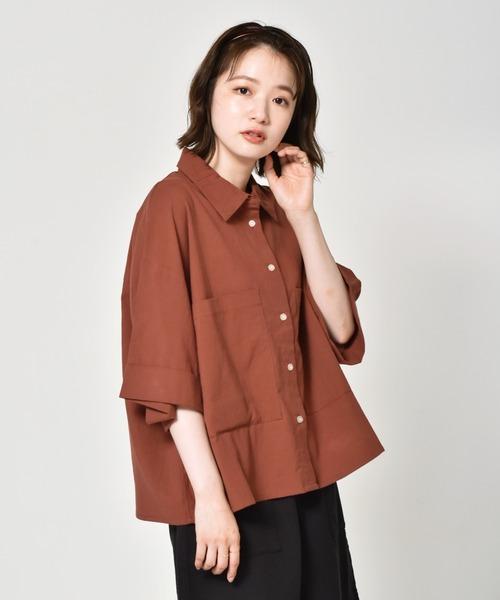 ゆる半袖シャツ