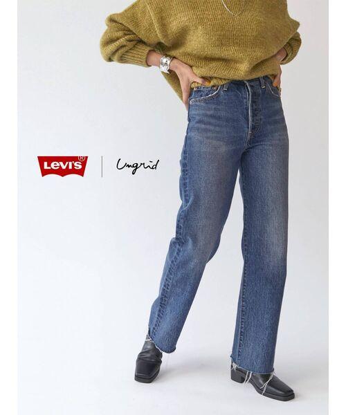 10周年限定】Levi's別注 セルフカットストレートデニム(デニムパンツ) Levi's(リーバイス)のファッション通販 - ZOZOTOWN