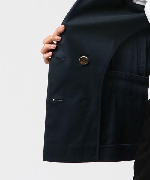 ダブル釦テーラードジャケット