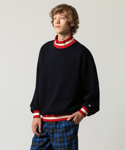 UNITED ARROWS & SONS(ユナイテッドアローズ&サンズ)RUSSELL M/NECK L/SL