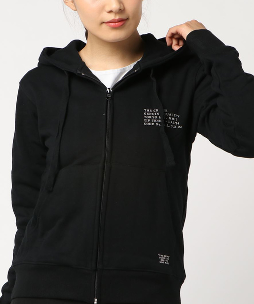 SWEAT ZIP PARKA MILITARY CODE