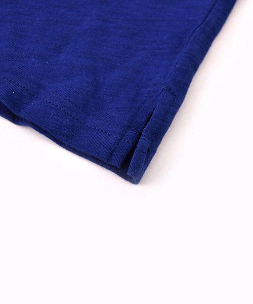 WASK/天竺ジュースポケットTシャツ(140cm~160cm)