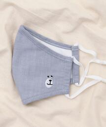 【WEB限定】コーエンベア刺繍洗えるファッションマスク