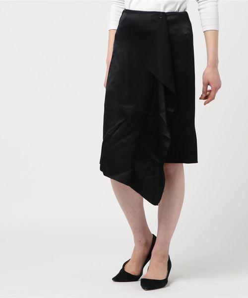 AERON エアロン / ミディ丈 巻きスカート
