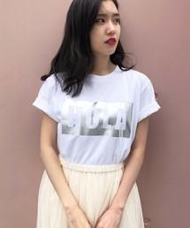 """PICCIN(ピッチン)の【PICCIN別注】""""HOLA""""箔プリントTシャツ(Tシャツ/カットソー)"""
