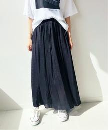 IENA(イエナ)のヴィンテージ サテンマキシスカート◆(スカート)