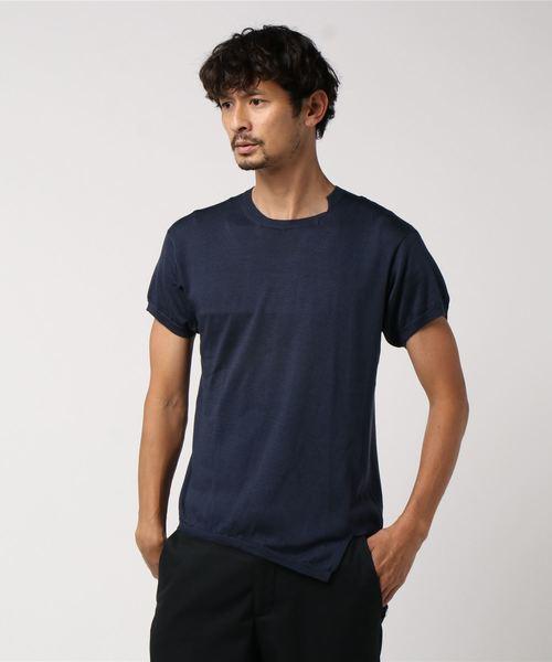 特別オファー 【セール】【Maison Flaneur】Wフェイス ニット半袖Tシャツ(ニット/セーター)|MAISON FLANEUR(メゾンフラネウール)のファッション通販, 三原市:716392d0 --- hausundgartentipps.de