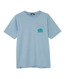 SOUND OF THE FUTURE ポケット付きTシャツサックスブルー