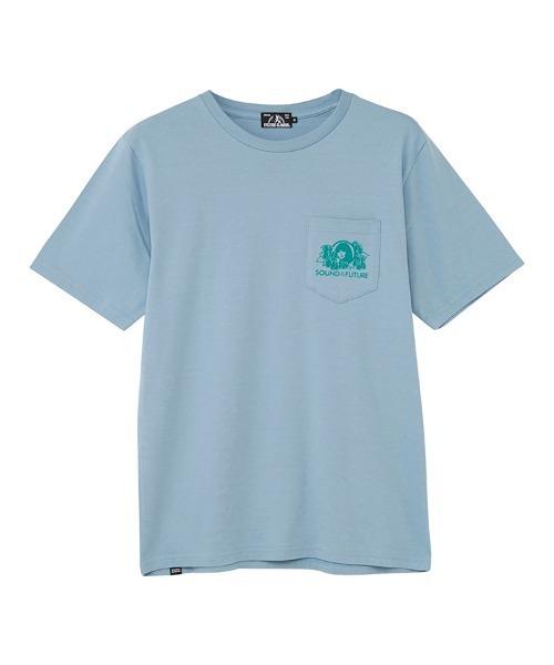 SOUND OF THE FUTURE ポケット付きTシャツ