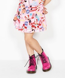 YOKO DOLL MIX柄 ブルマ付きスカート【XS/S/M】ピンク系その他