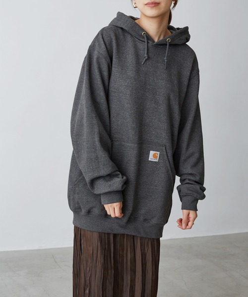 carhartt(カーハート)  M MW Hooded Sweatshirt 裏起毛プルオーバーパーカー