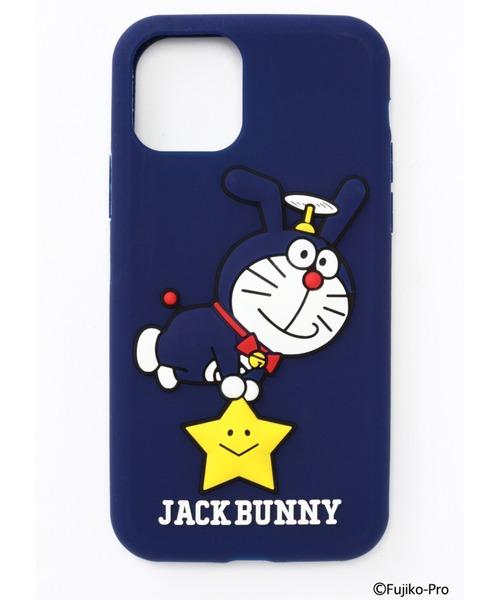 Jack Bunny!!(ジャックバニー)の「【ドラえもん × Jack Bunny!!】ねがい星iPhoneケース<iPhone 11PRO対応>(UNISEX)(モバイルケース/カバー)」 ネイビー