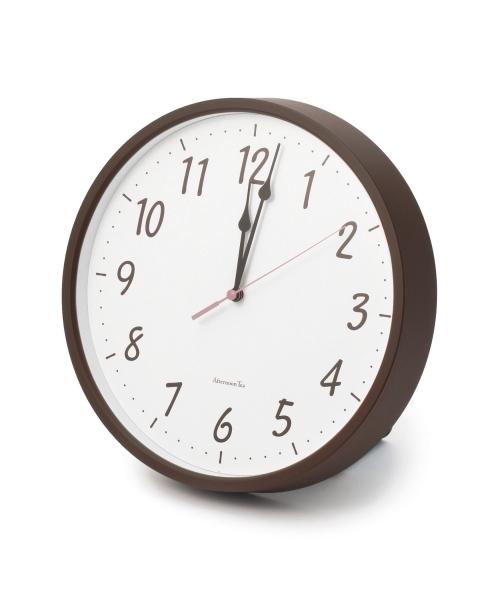 Afternoon Tea(アフタヌーンティー)の「EK47 電波掛け時計(掛け時計)」|ブラウン