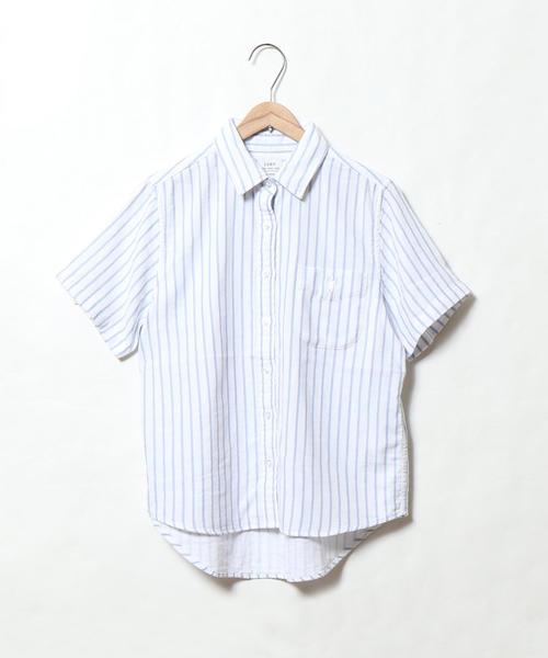 ツイルダブルガーゼショートスリーブシャツ