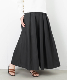 LUCA/LADY LUCK LUCA(ルカ/レディラックルカ)のLC/LLL 玉虫調 タックフレアマキシスカート(スカート)
